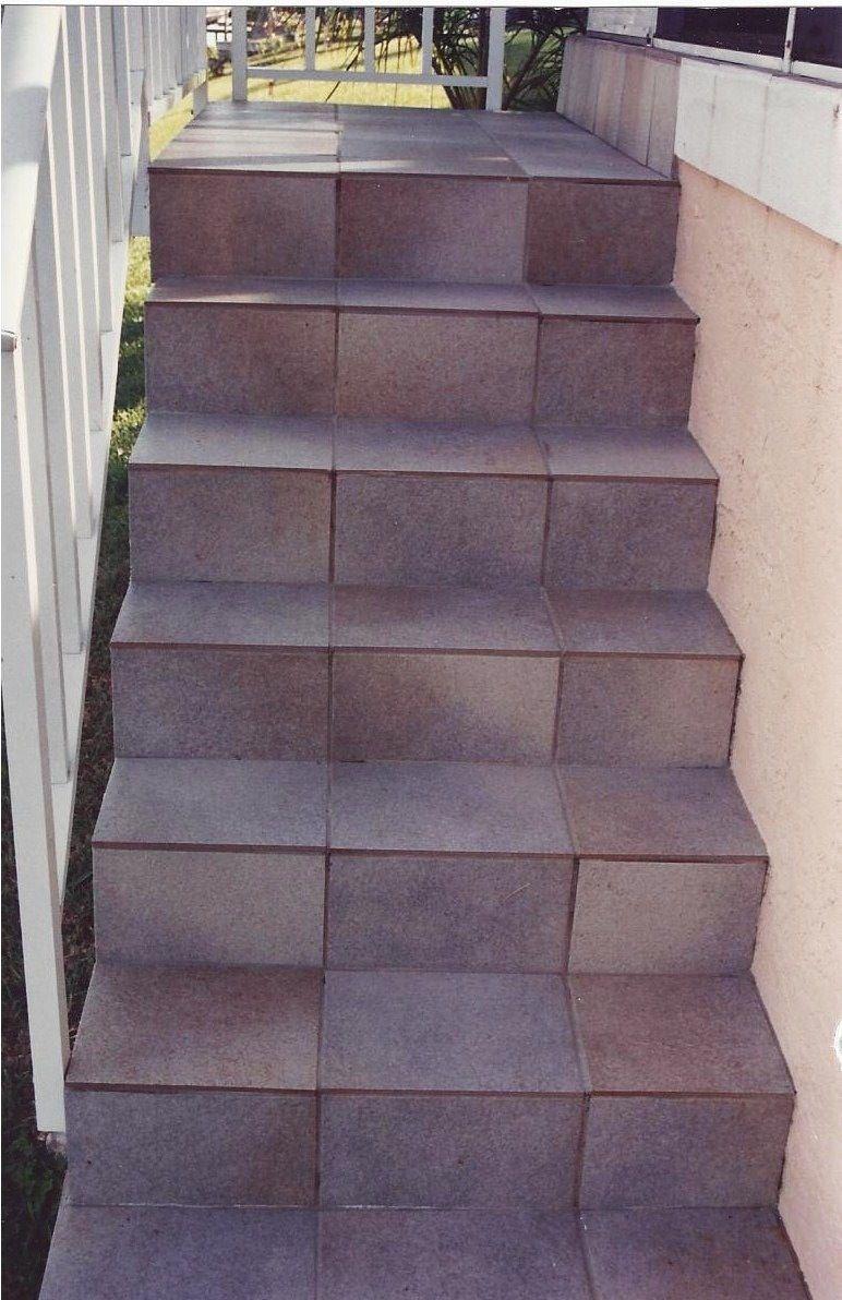 porcelain tile stairs - Google Search - Porcelain Tile Stairs - Google Search Laidley Facade Pinterest