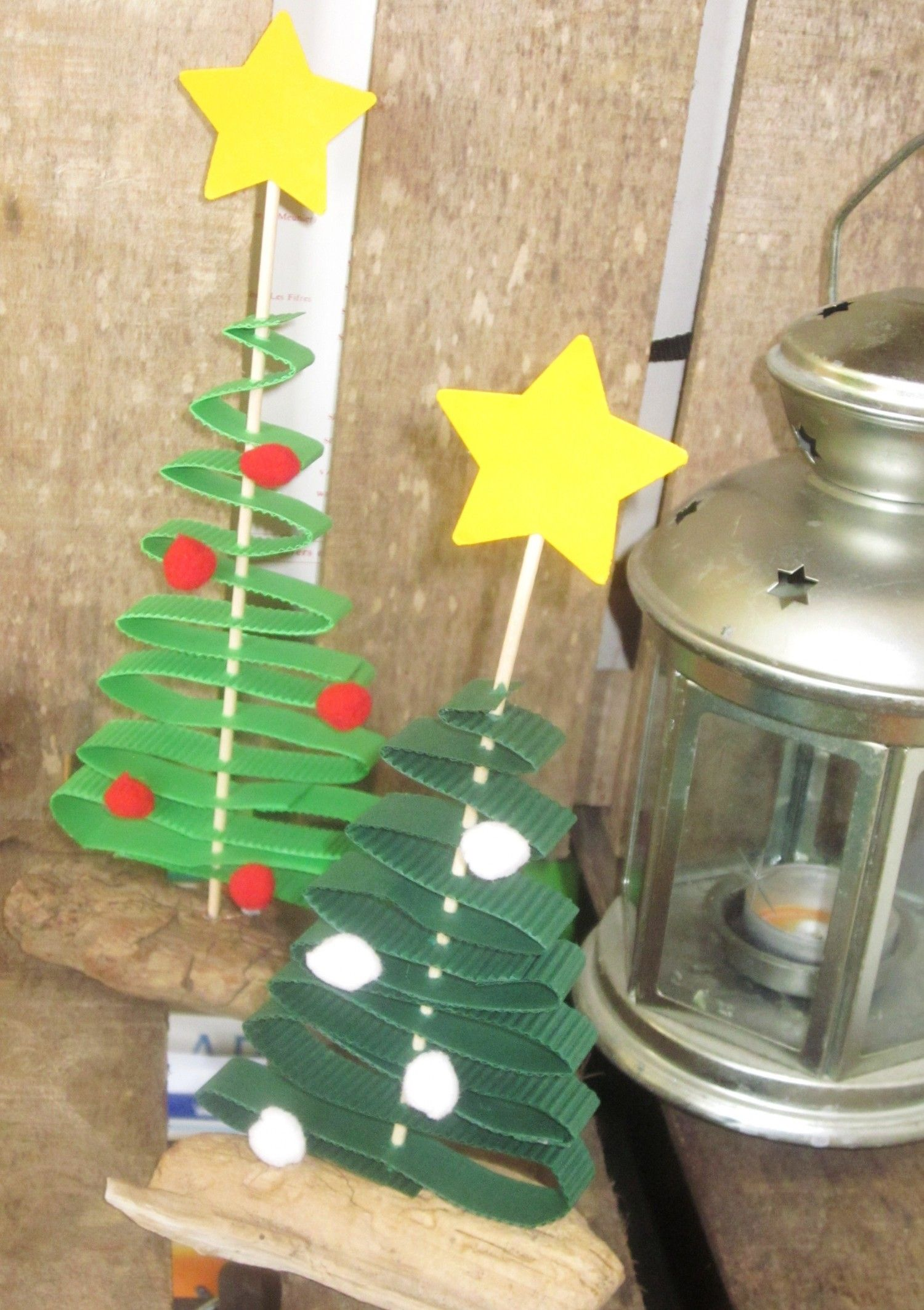 Fabriquer Sapin De Noel En Papier mini-sapin noël carton | sapin de noel, decoration noel