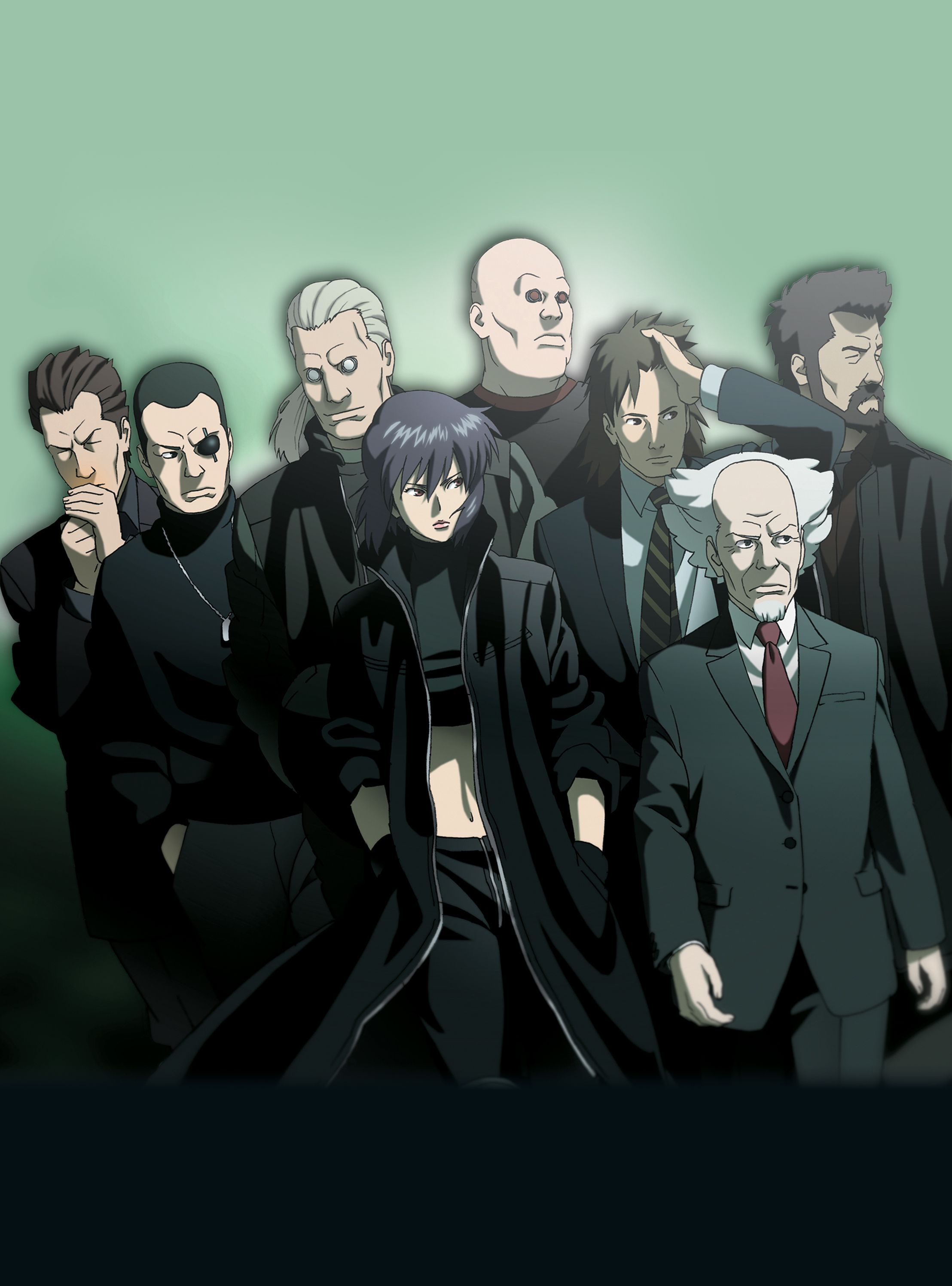 Ghost In The Shell Stand Alone Complex 2nd Gig Ghost In The Shell Anime Ghost Anime