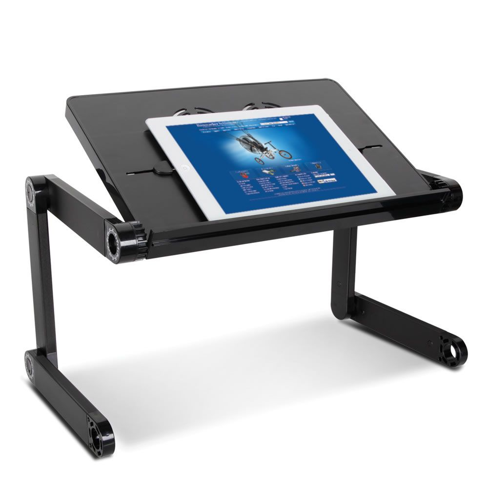 The Variable Position Tablet Stand Hammacher Schlemmer