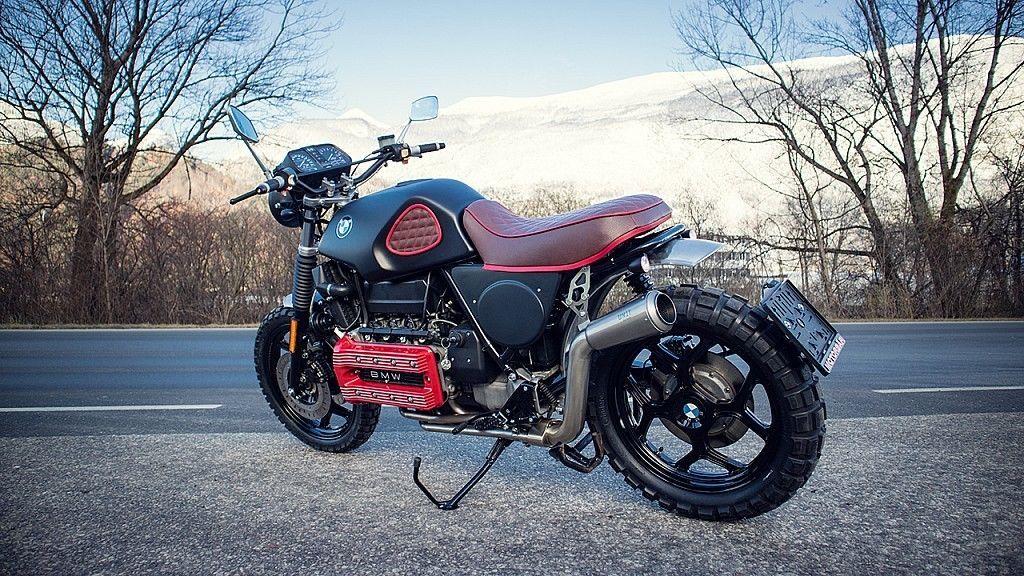 Bmw K 100 Rs Scrambler Handmade Umbau Gs Custom Bike Auto