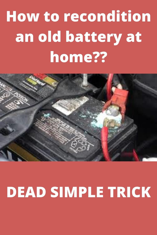 How To Recharge Dead Batteries Diy Video In 2021 Batteries Diy Battery Repair Car Battery Hacks