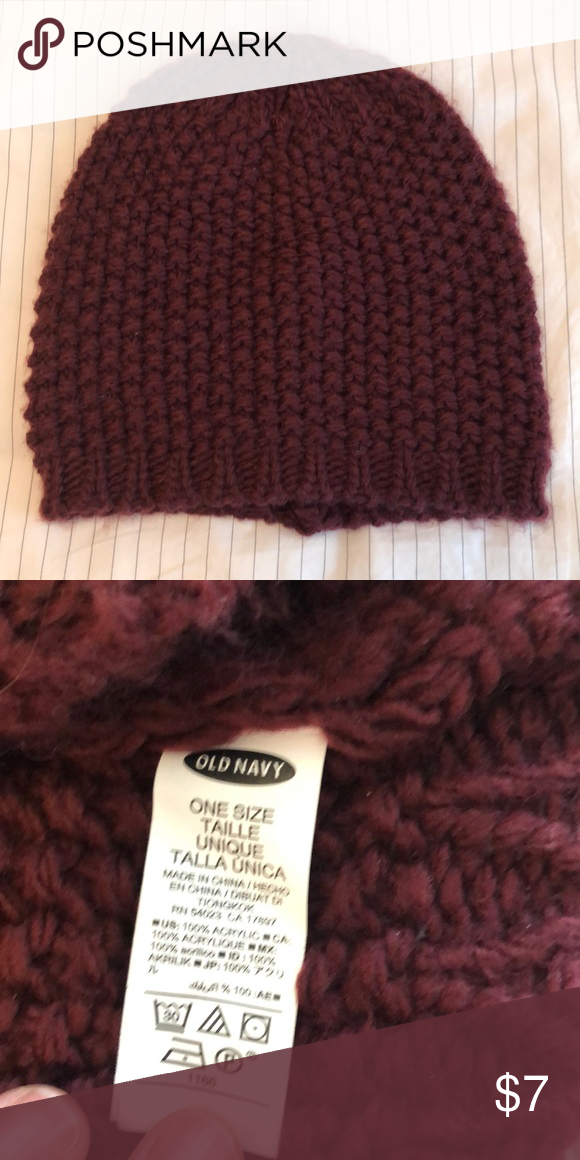 07b5d1d0513fe Old Navy Beanie Excellent condition Old Navy Accessories Hats