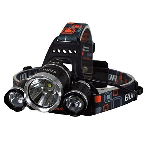 Keku Led High Power Headlamp Rechargeable Waterproof Head Flashlight Lamp With 3 Xm L T6 4 Modes Read More Rechargeable Headlamp Led Headlamp Head Flashlight