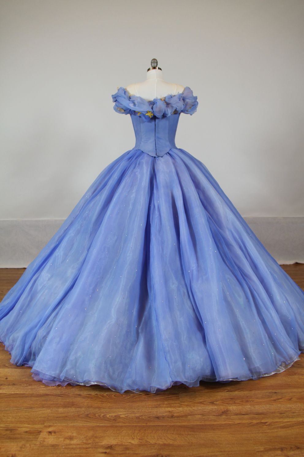 "The ""Perfect"" Cinderella Dress - Process & Finished - Bella Maes"