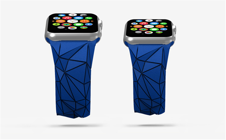 Check out Polygon Flex Band for Apple Watch on Cubify at http://cubify.com/store/design/HS2JYOG8S6 #getthereeasy