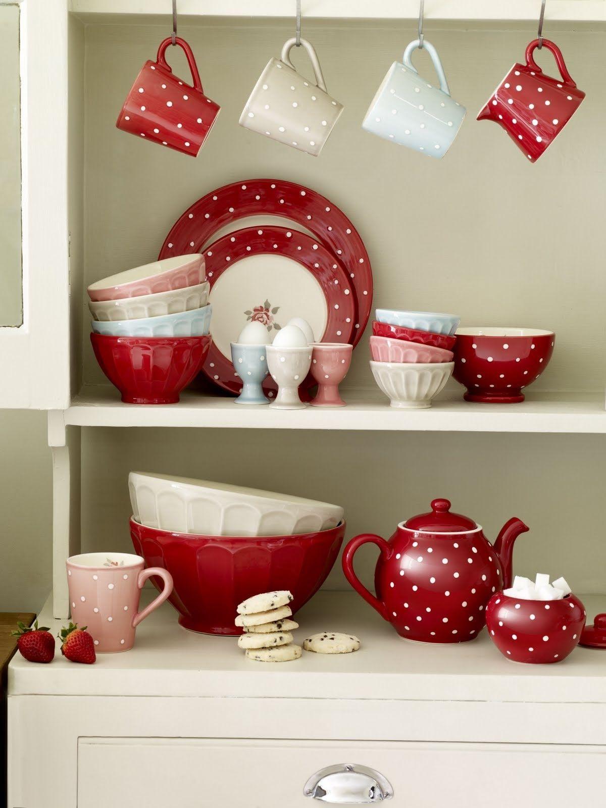 nice colors  Déco cuisine rouge, Déco maison de campagne