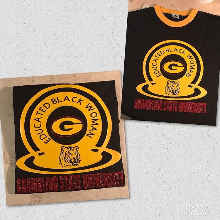 New Shirt Alert Gsu Gramblingstateuniversity Gramfam Tigers