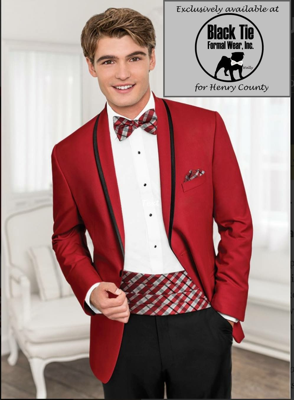 Pin by Rose Tuxedo on Prom 2019 Red tuxedo, Tuxedo