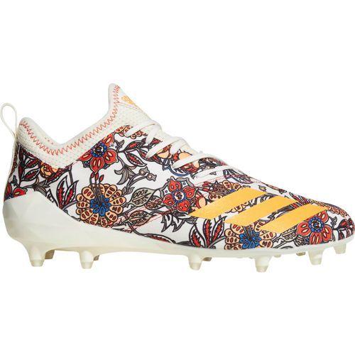the best attitude 3fe38 8de0a Adidas Mens Adizero 5-Star 7.0 Football Cleats (WhiteBeige, Size 11.5) - Football  Shoes at Academy Sports