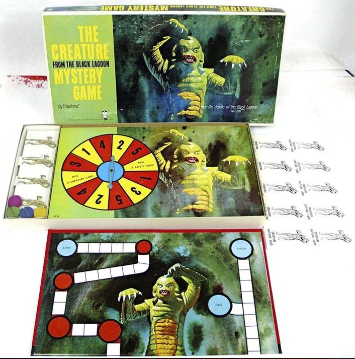 wolfman mystery board game - Google Search | Vintage Toys | Pinterest