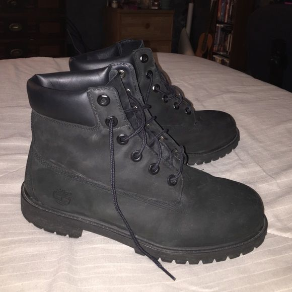 All Black Timberlands!   All black