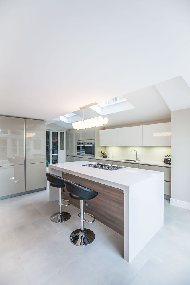 White Kitchen Extensions single-storey kitchen extension in twickenhaml&e (lofts and