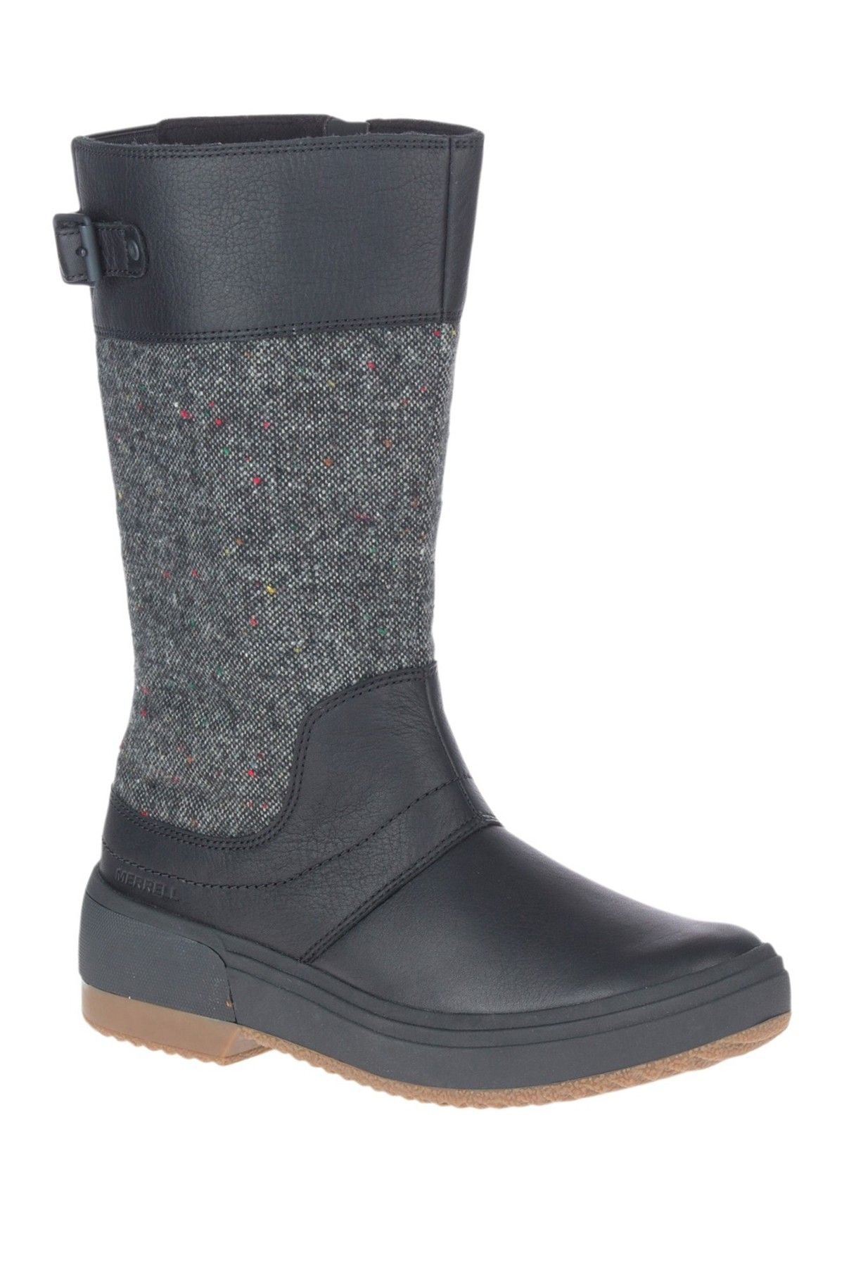 Merrell | Haven Tall Buckle Strap Boot | Nordstrom Rack