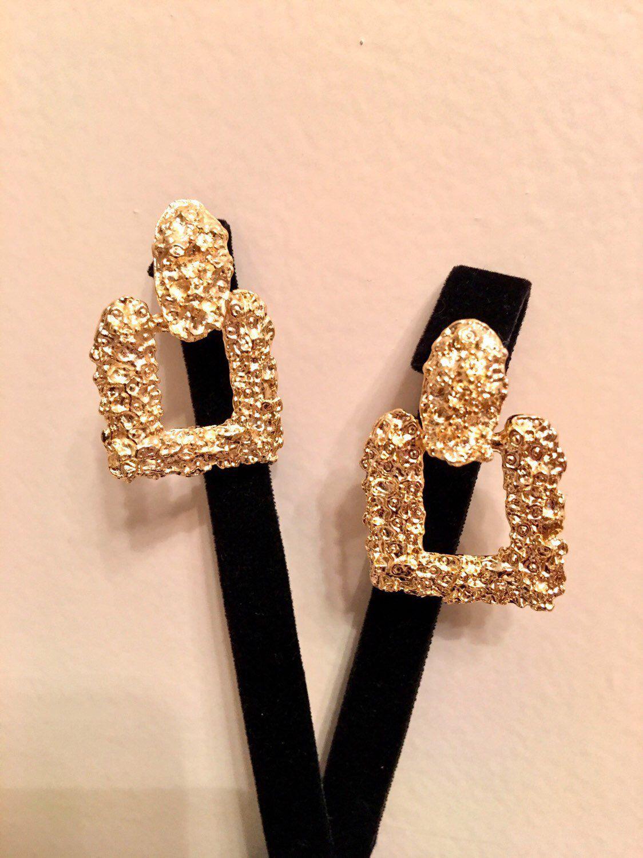 Drop Earrings in Gold Filled Long Dangle Earrings anniversary gift,Authentic earrings Handmade women gold earring Big Earrings
