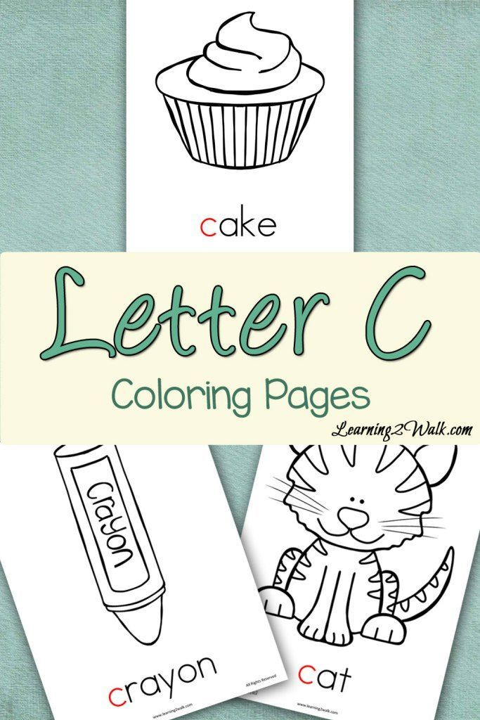 Preschool Letter Activities Letter C Coloring Pages Free
