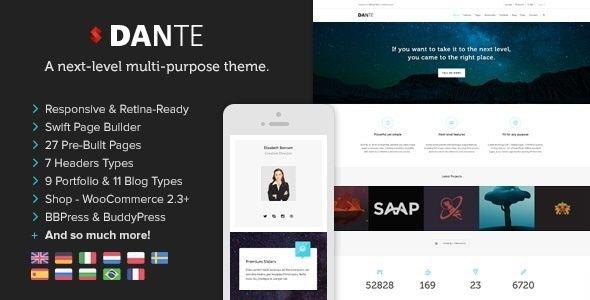 Dante - Responsive Multi-Purpose WordPress Theme - http://themesparadise.com/dante-responsive-multi-purpose-wordpress-theme/