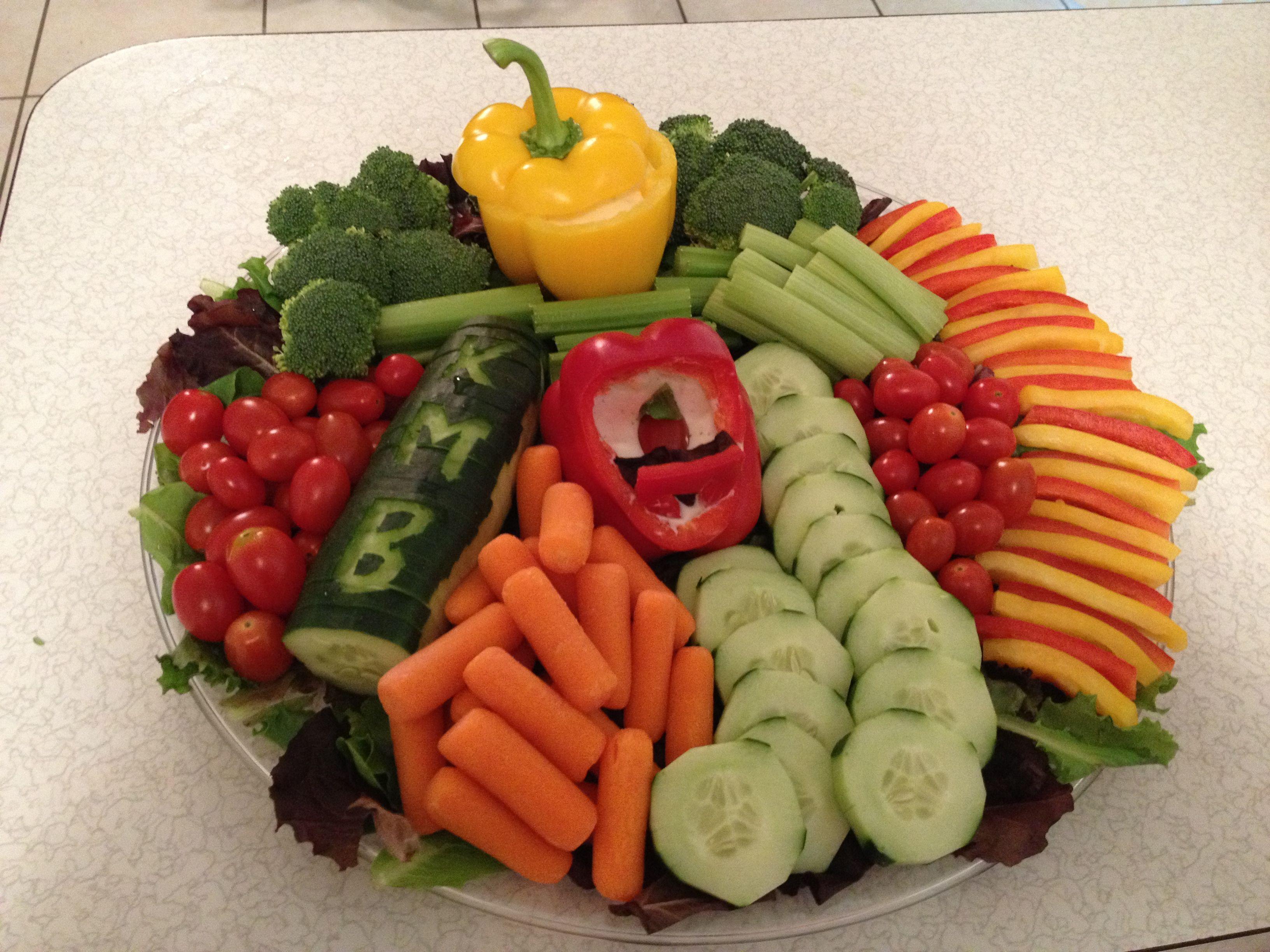 First baby shower veggie platter:) | Food Creativity ...