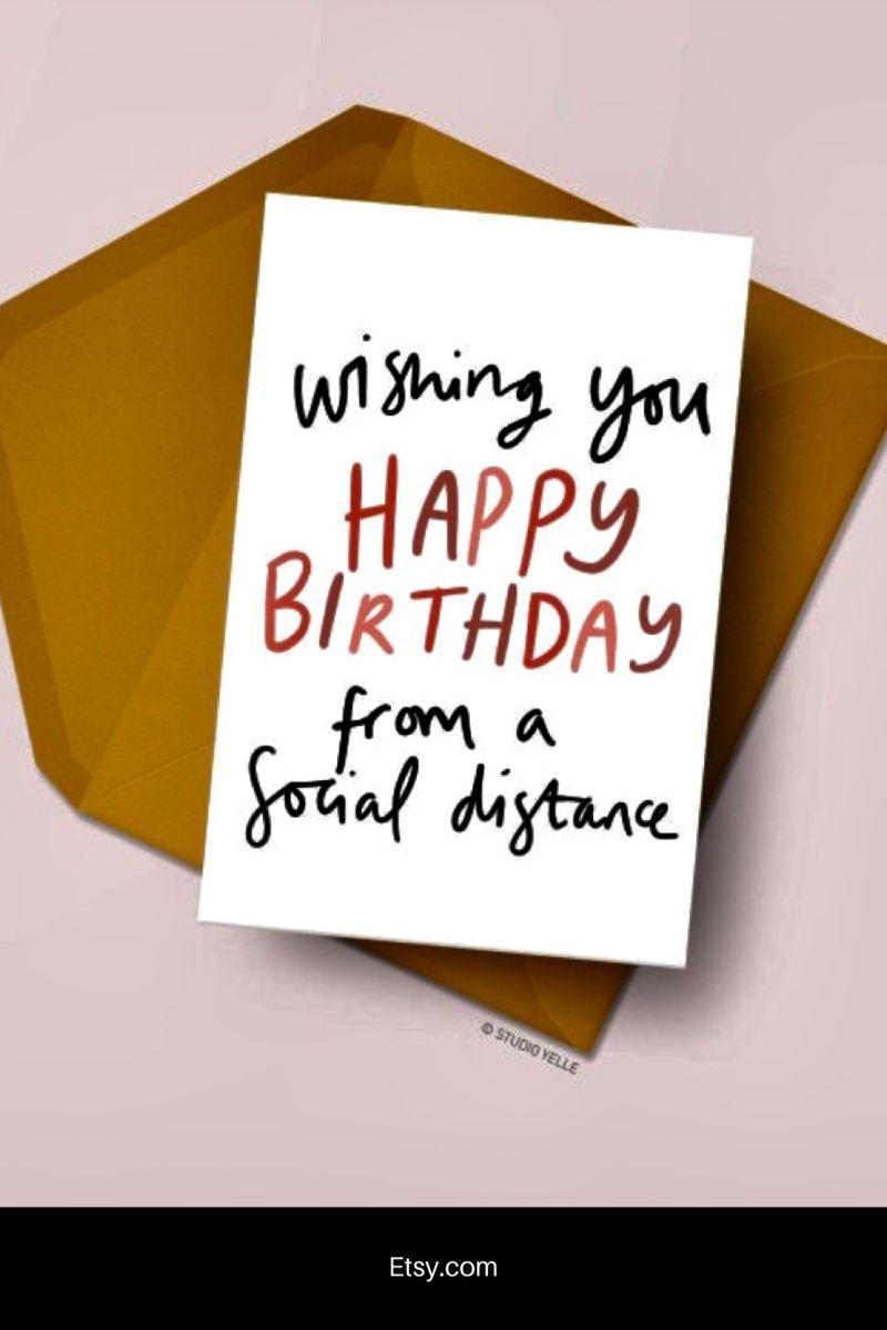 Funny Birthday Card Typography Birthday Card Topical Etsy Wish You Happy Birthday Funny Birthday Cards Happy Birthday Cards