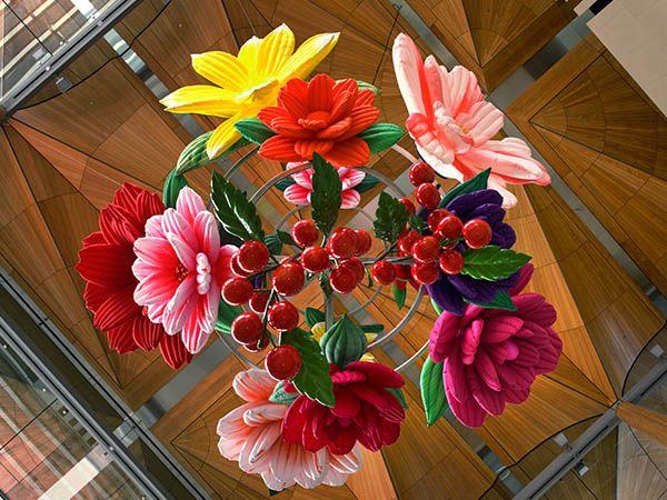 Choi Jeong Hwa, Flower Chandelier