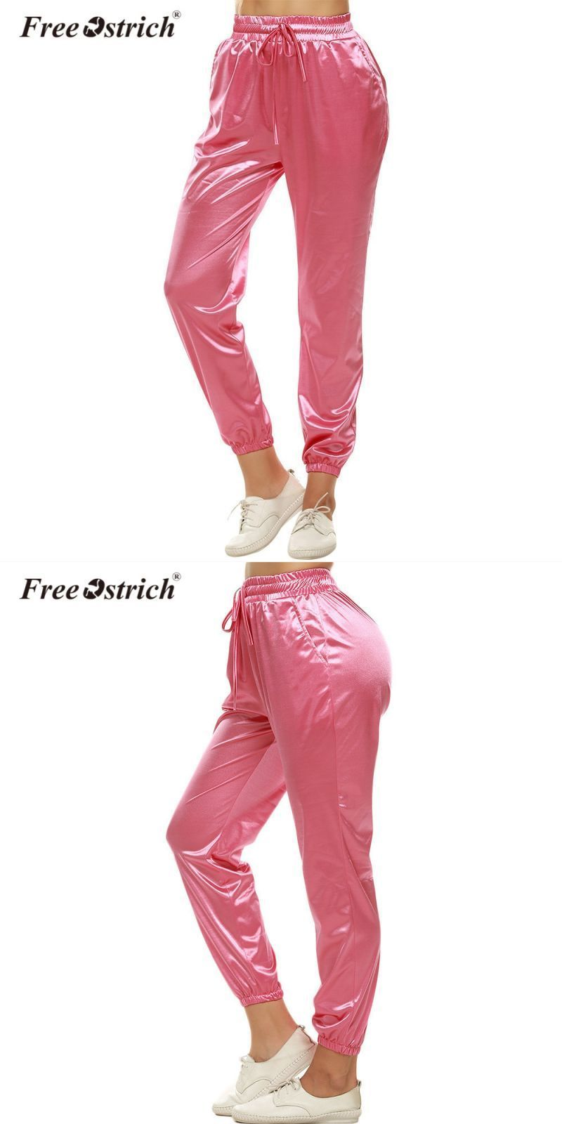 Sweatpants women 2018 pants joggers casual baggy high waist trousers  pantalon femme harajuku l2630  polyester 9b36f1e3b784