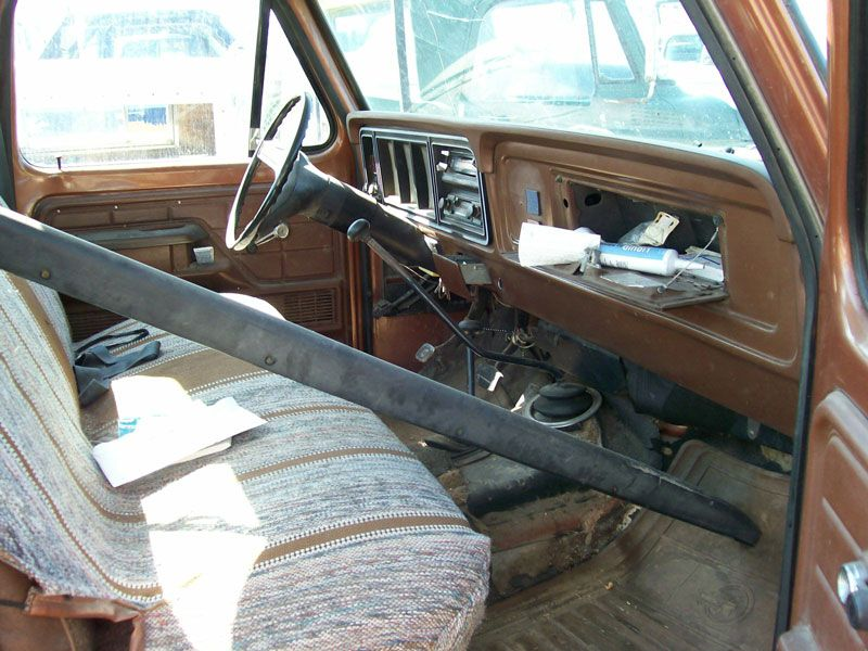 1978 vintage Ford F-150 truck interior | Classic Ford Favorites ...