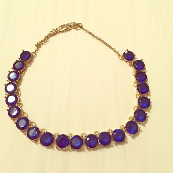 Statement blue necklace Amazing color! Perfect to dress up an outfit Jewelry Necklaces