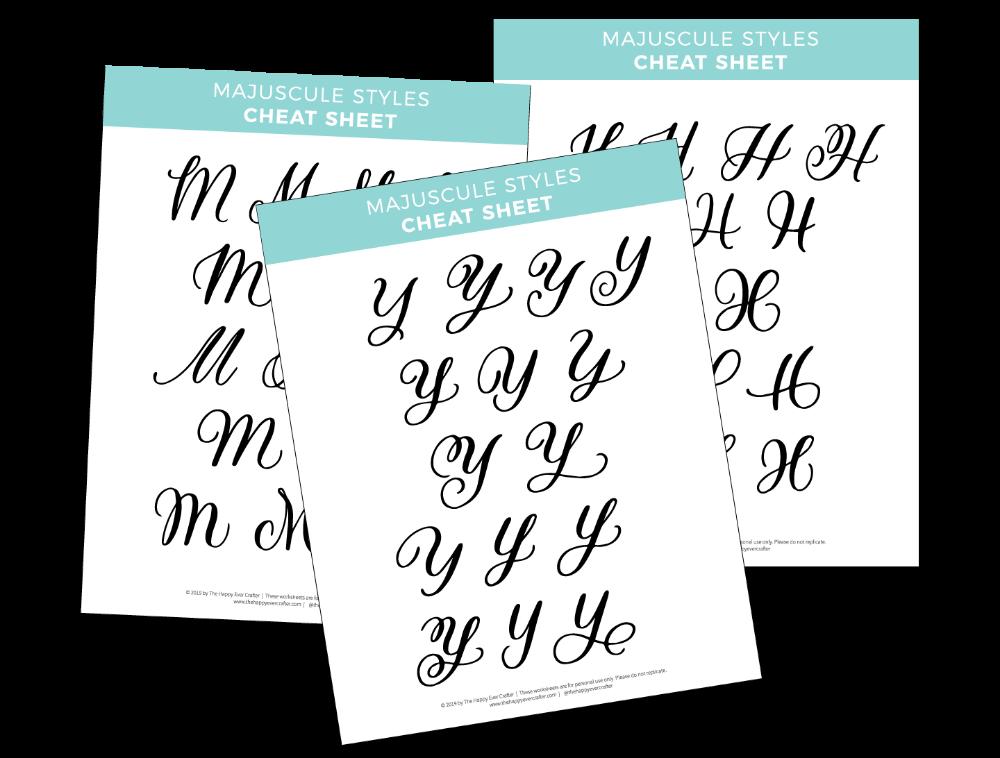 FREE Majuscule Uppercase Letter Worksheets Learn Modern Calligraphy  Uppercase Letters Worksheets, Learn Modern Calligraphy, Lettering
