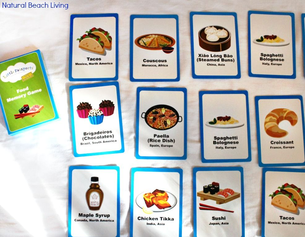 Preschool Geography Exploring Food Around The World Around The