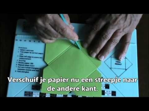 Enveloppen met het Scoring Board NL - YouTube