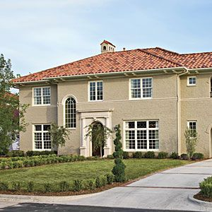 Best Exterior Paint Colors For Small Stucco Home With Orange Tile Roof 2008 Idea House Verona Park Video