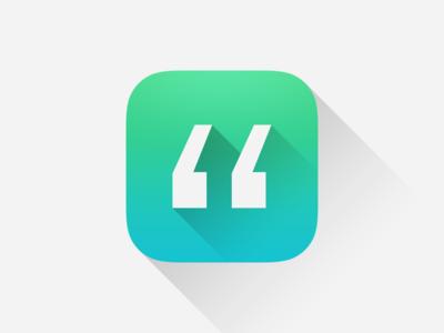 Quotes App Icon App Icon App Icon Design Quotes App