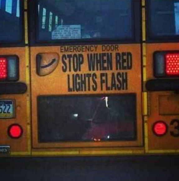 Stop When The Red Lights Flash