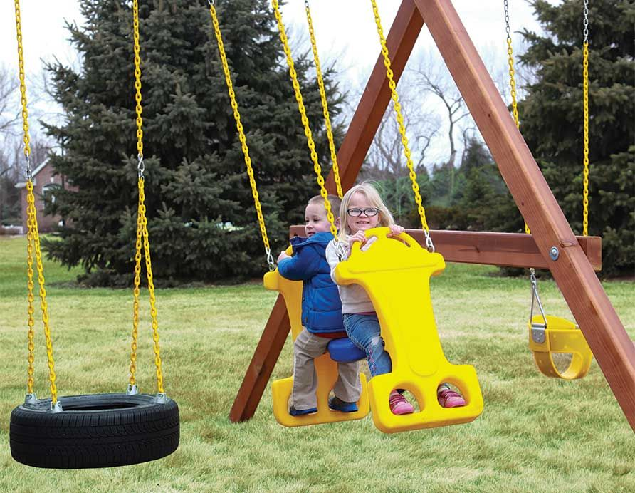 Swing Set Accessories Rainbow Play Systems Swing Set Accessories Gliders