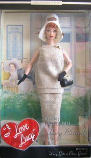 Amazon.com: Barbie Collector I Love Lucy The Audition Doll Episode ...