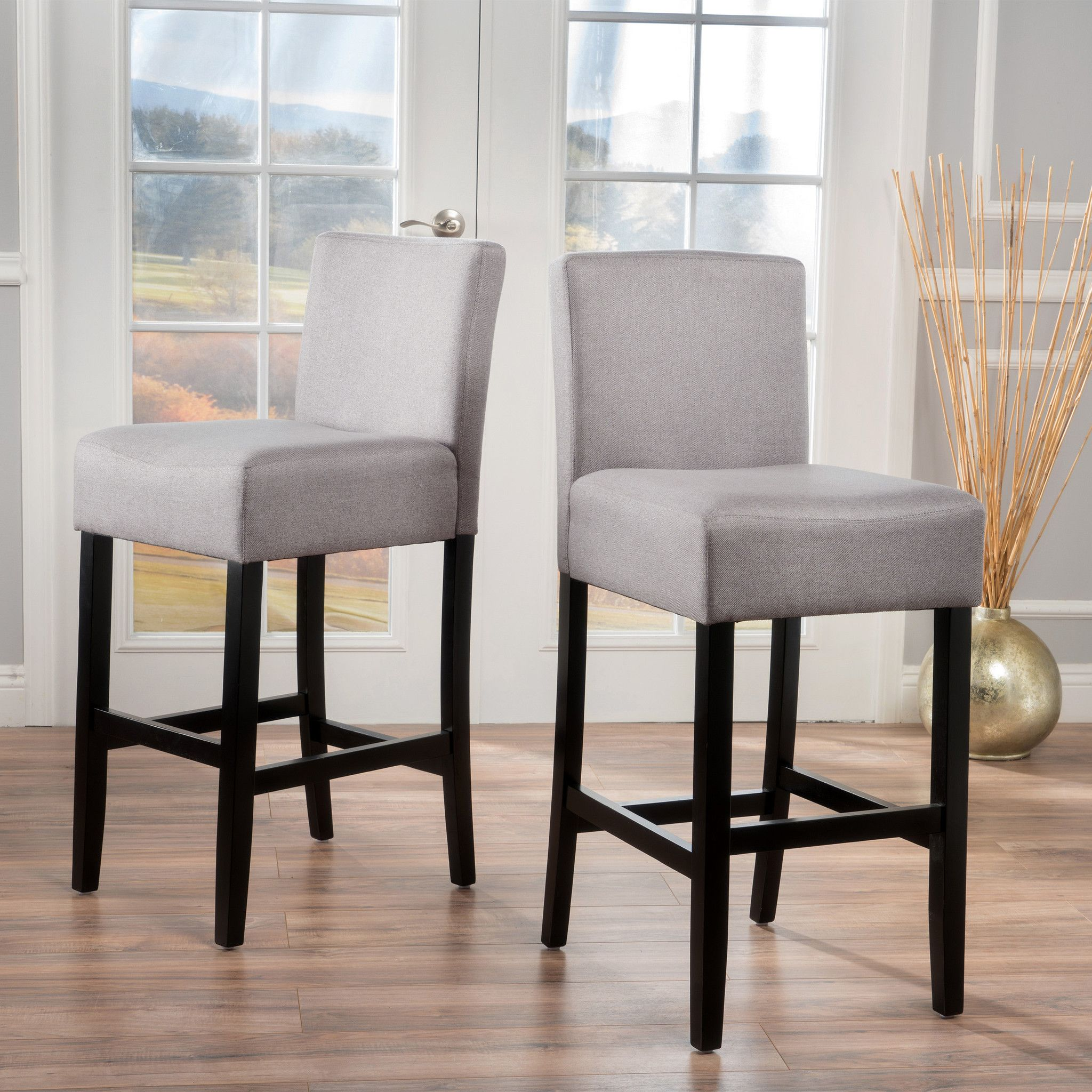 ad Bell Barstool Set of 2 Add fort to your home with our Bell