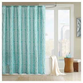 "Petra Shower Curtain - Blue (72""x72"") : Target"