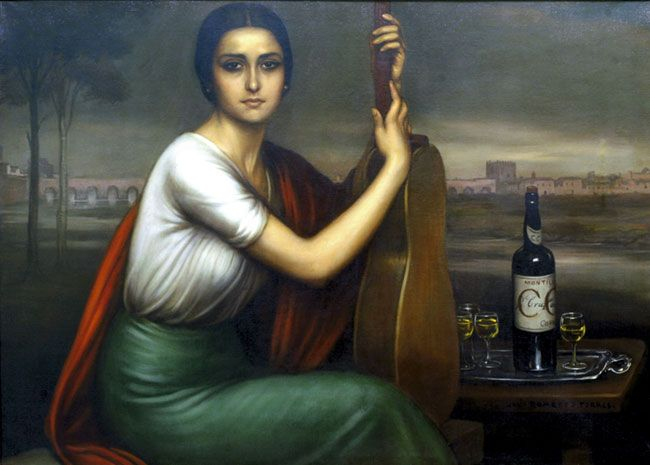 Mujer cordobesa cuadro de julio romero de torres for Modelo cordobesa