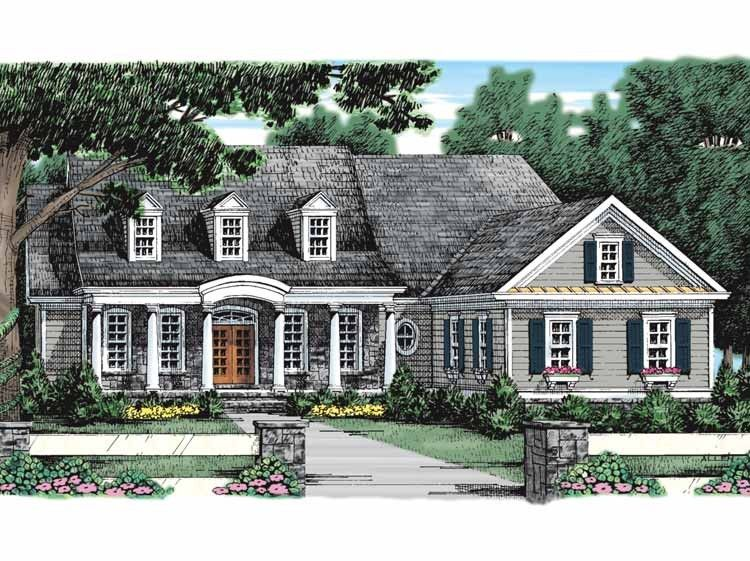 Adam   Federal House Plan With 2477 Square Feet And 3 Bedrooms From Dream  Home Source