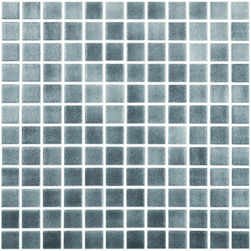Fog Dark Grey 1 X 1 Glass Tile Glass Tile Mosaic Pool