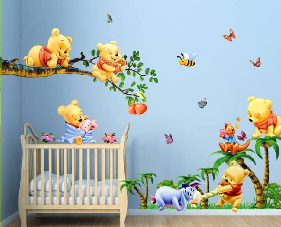 Winnie The Pooh Bedroom Wallpaper Room Wallpapers 1