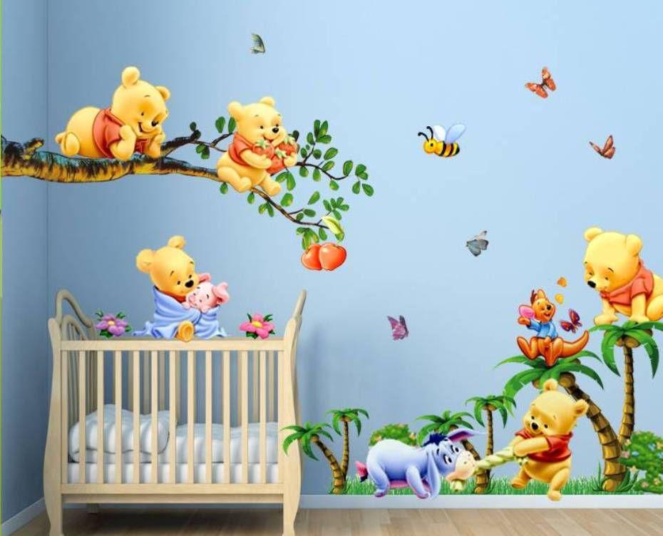 Image Result For Winnie The Pooh Nursery Wallpaper Nursery Wall