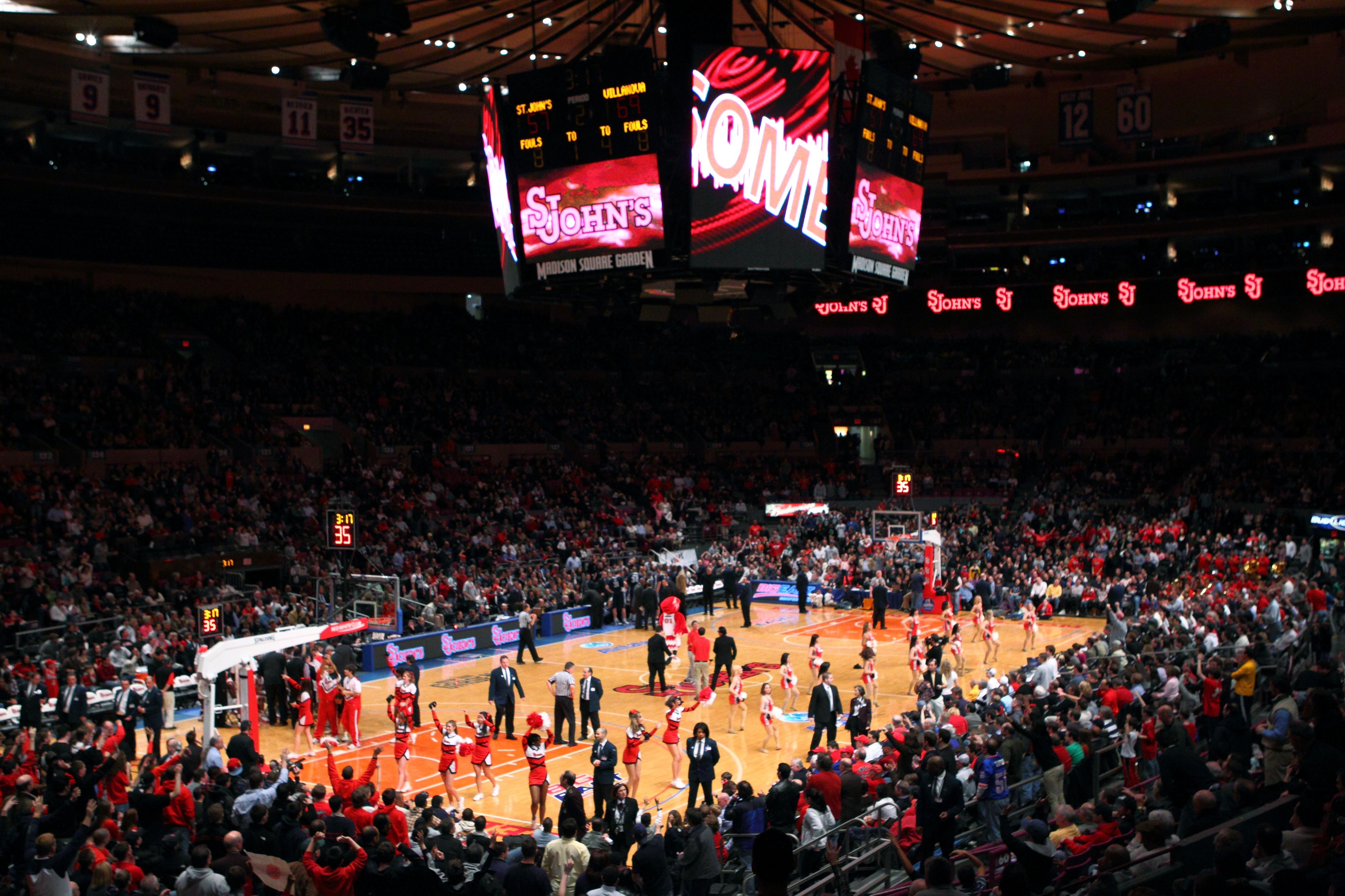 St John S Makes Return To The 2k Sports Classic And Msg Madison