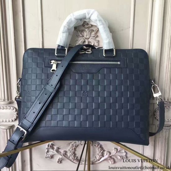 a8058b9dc187 Louis Vuitton Avenue Soft Briefcase N41020 Damier Infini Leather ...