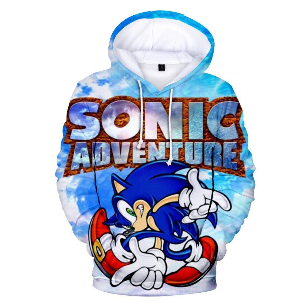2019 Sonic The Hedgehog Printed 3D Hoodies Women/Men Long