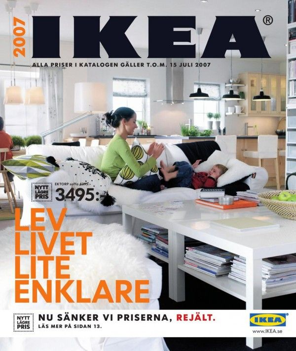 IKEA Catalog Covers from 1951-2018 | Ideas for the House