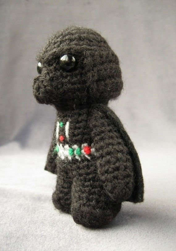 PDF of Darth Vader Star Wars Mini Amigurumi by lucyravenscar, $3.50 ...