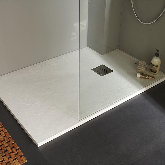 Receveur De Douche A Poser Extra Plat Blanc 80 X 120 Cm Pyro Receveur De Douche Douche Deco Salle De Bain Toilette