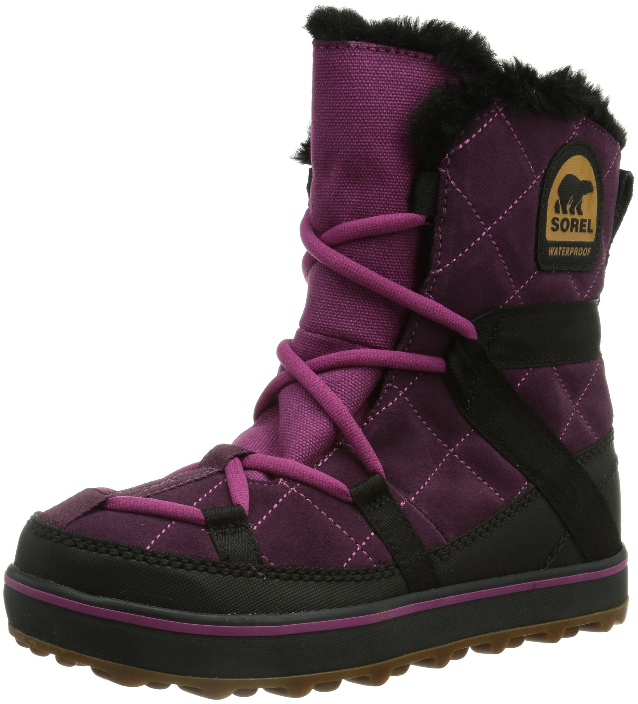Zapatos negros Sorel Glacy para mujer