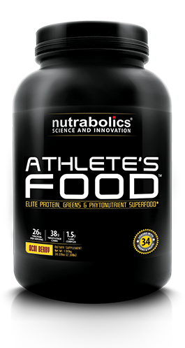 Athlete's Food by Nutrabolics at Bodybuilding.com - Best Prices on Athlete's Food! #athletefood